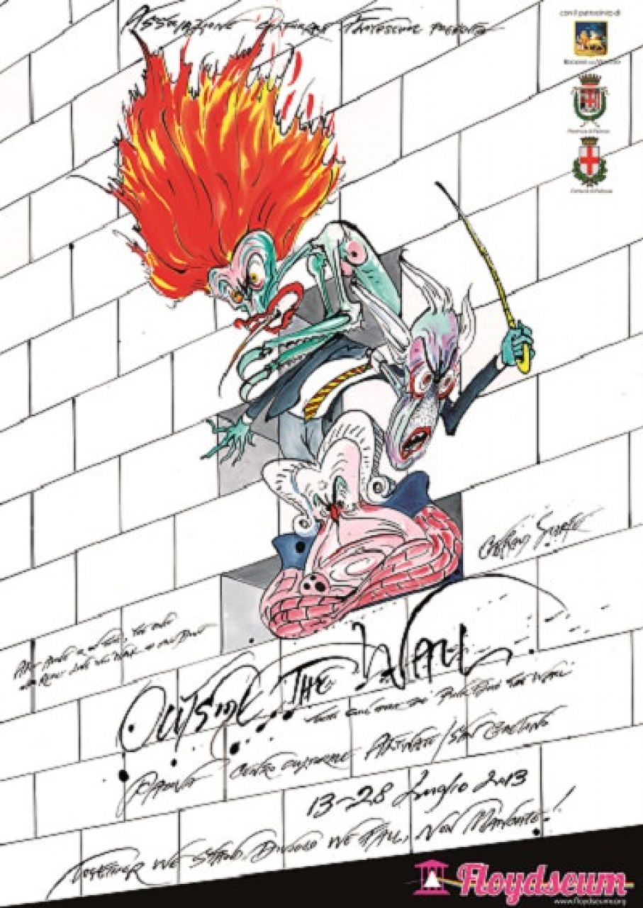 Gerald Scarfe and Glenn Povey